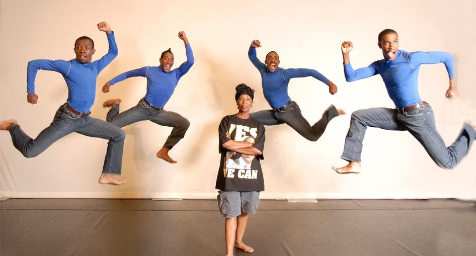 Lula Washington Dance Theatre. Photo by Ian Foxx.