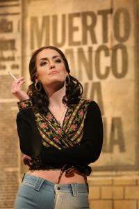 Bergen Baker as Frasquita in Minnesota Opera's 2015 production of Carmen. Photo by Dan Norman.