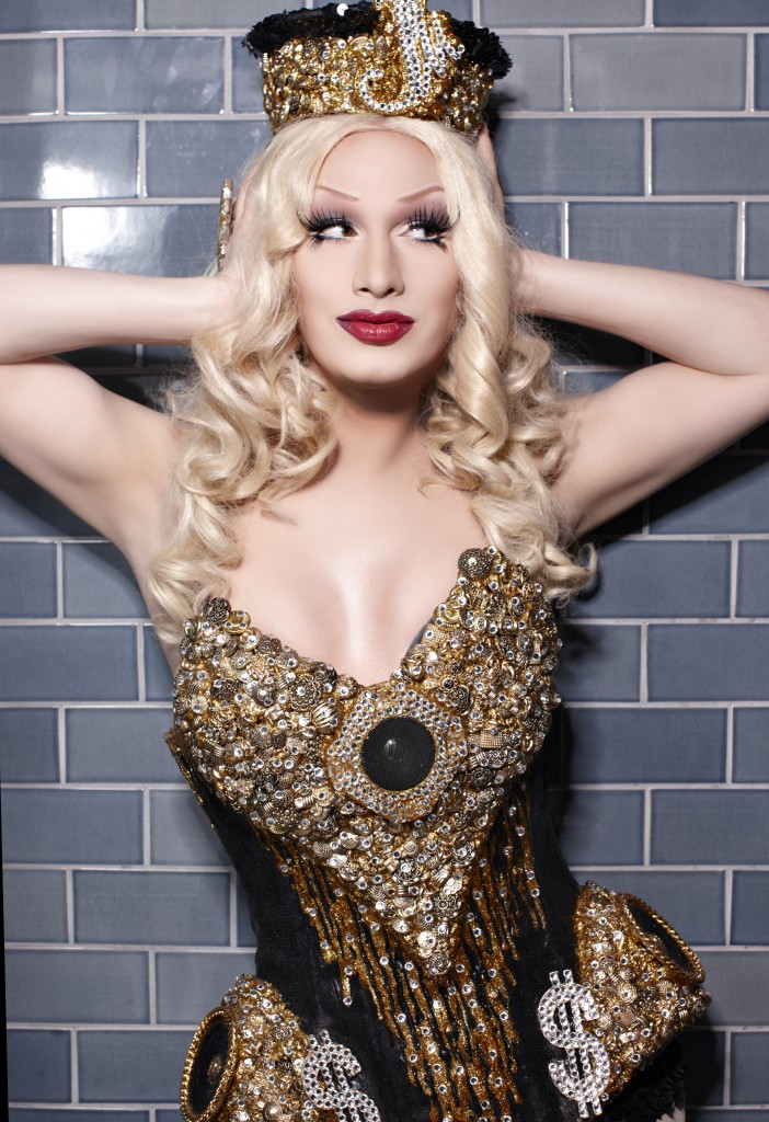 Jinkx Monsoon competes in the swimsuit category. Photo by Magnus Hastings.