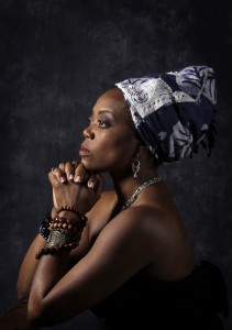 Regina Marie Williams as Nina Simone. Photo by Tom Wallace.
