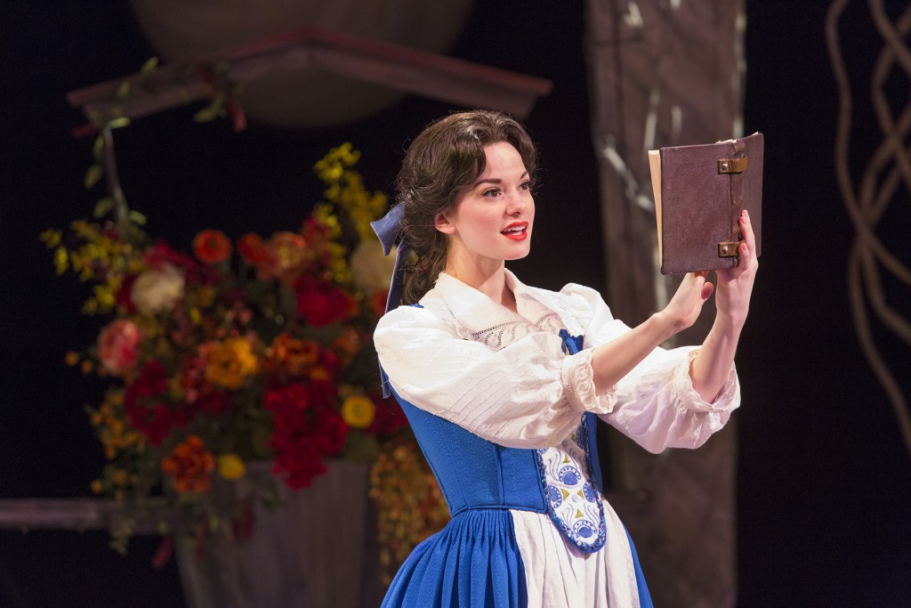 Belle (Ruthanne Heyward) engaged in her favorite preoccupation.