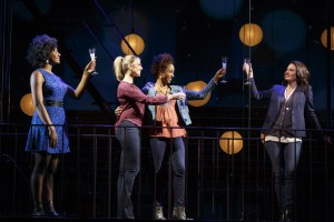 Kyra Faith, Janine DiVita, Tamyra Gray, and Jackie Burns in If/Then.
