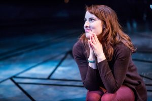 Anna Sundberg as Marianne in Constellations.