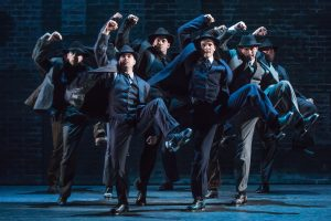 The cast of Bullets Over Broadway. Photo by Matthew Murphy.