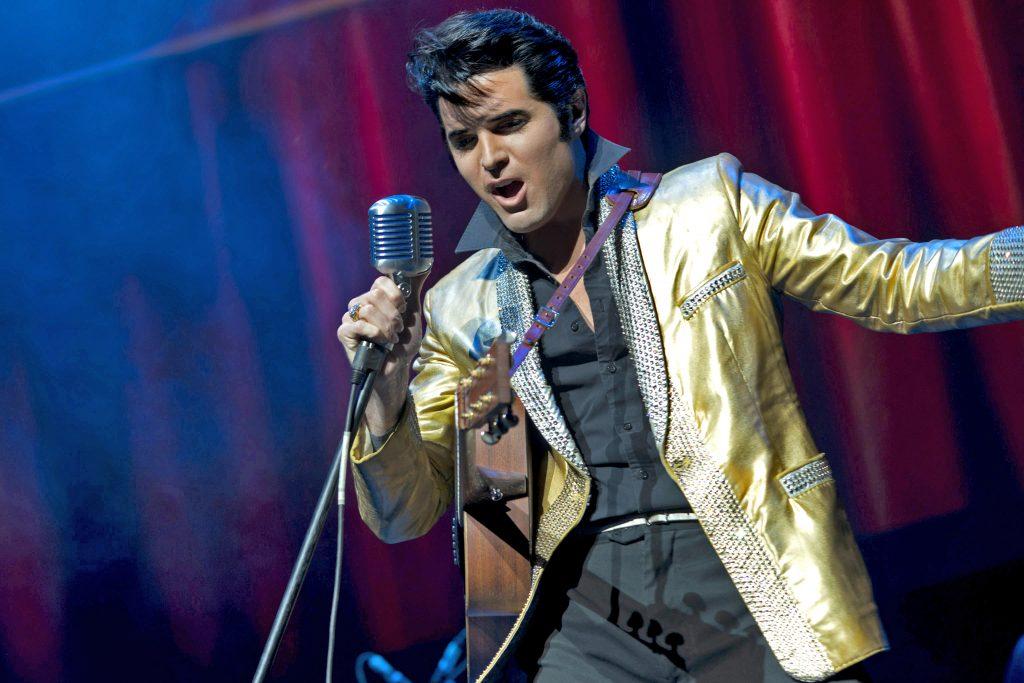 Dean Z as Elvis.