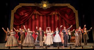 The cast of Cinderella. Photo by Dan Norman.