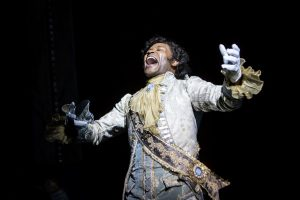 The Prince (David Murray) gets excited. Photo by Dan Norman.