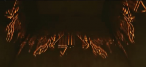The distinctive gold electrical circuit-esque design used in X-Men Apocalypse.
