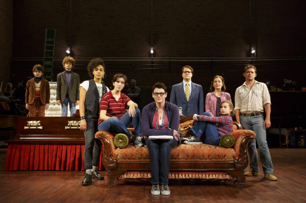 The National Tour Company of Fun Home. Photo by Joan Marcus.