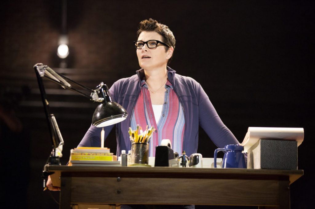 Kate Shindle as Alison in Fun Home. Photo by Joan Marcus.