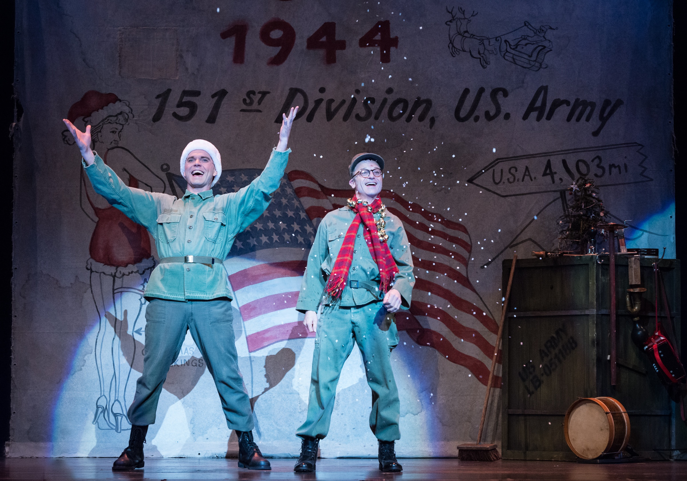 REVIEW: Retro Walk in White Christmas (Ordway) – Twin Cities Arts ...