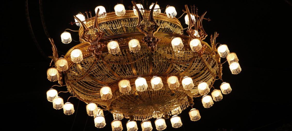 The Chandelier Used In Cur Broadway Ion Of Phantom Opera Touring Show Is Proportionally Taller And