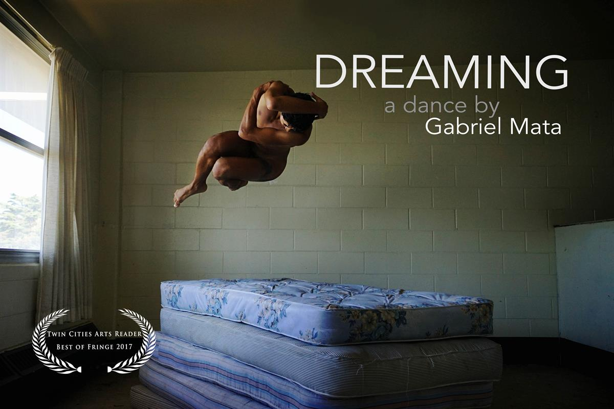 A promotional image for Dreaming.