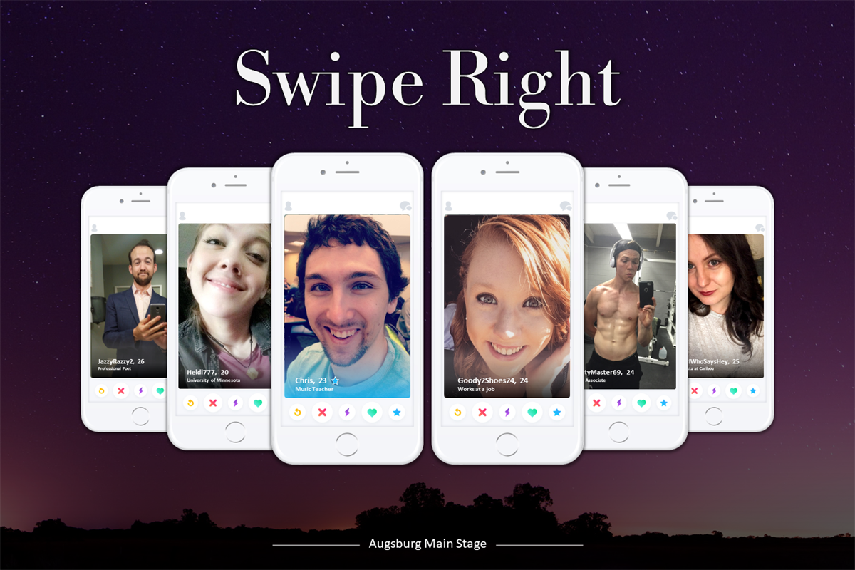 A promotional image for Swipe Right.