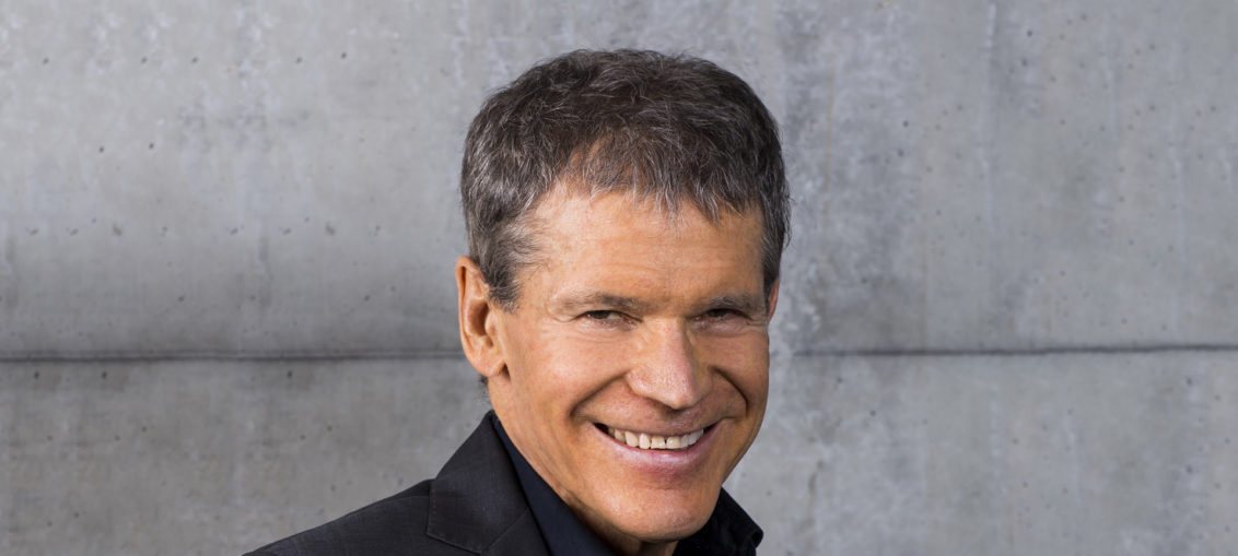 A publicity photo of alto saxophonist David Sanborn. Photo by Scott Chernis.